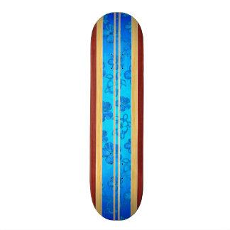 Honu Hawiian Faux Wood Surfboard Skate Boards