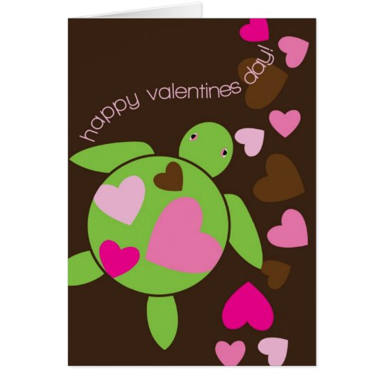 Honu Hearts Valentines Day Card