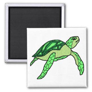 Honu in green sea turtle magnet