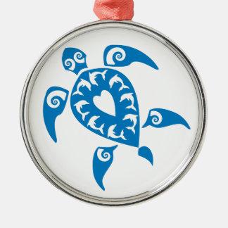 Honu Metal Ornament