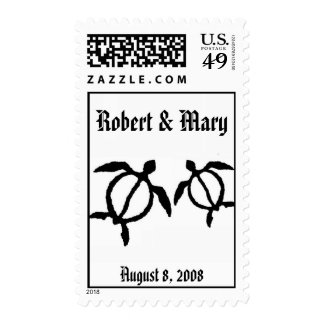 honu, Robert & Mary, August 8, 2008 Stamps
