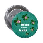 Honu Sea Family_circle Pins