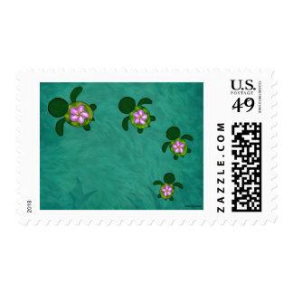 Honu Sea Family_Z02A Postage Stamps