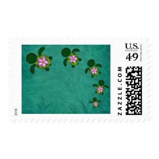 Honu Sea Family_Z03A Stamp