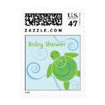 Honu Swirl Baby Shower Custom US Postage Stamp