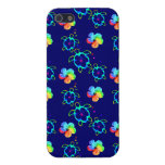 Honu Turtles and Tie Dyed Hibiscus iPhone 5 Case
