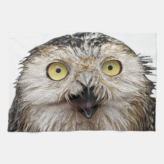 Hoo Are You? Owl Who Are You? Hand Towels