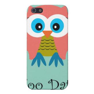 Hoo Dat in Aqua  iPhone Case iPhone 5 Cases