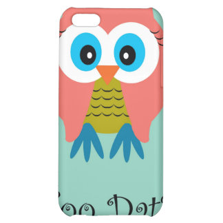 Hoo Dat in Aqua  iPhone Case Cover For iPhone 5C