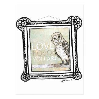 hoo del amor postales
