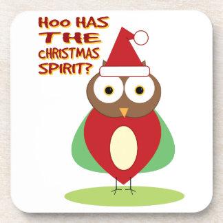 HOO HAS THE CHRISTMASS SPIRIT? DRINK COASTERS