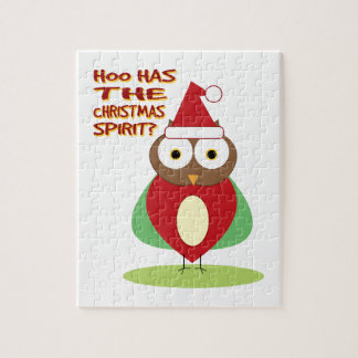 HOO HAS THE CHRISTMASS SPIRIT? PUZZLE