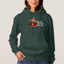 Hoo Hoo Hoo Santa Claus Owl - Ho Ho Ho Hoodie
