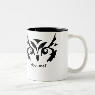 'Hoo, me?' Mug