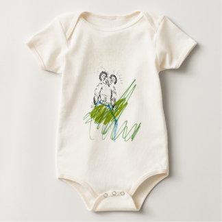 Hoo Needs Your Metaphor Baby Bodysuit