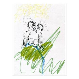 Hoo Needs Your Metaphor Postcard
