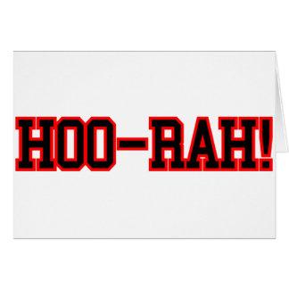 HOO RAH CARD