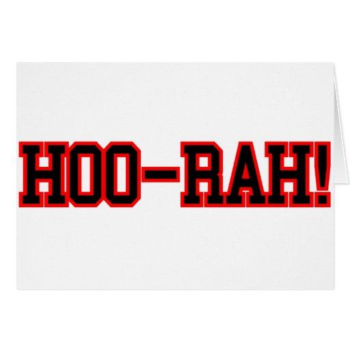 HOO RAH CARDS