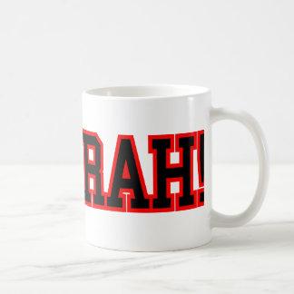 HOO RAH CLASSIC WHITE COFFEE MUG