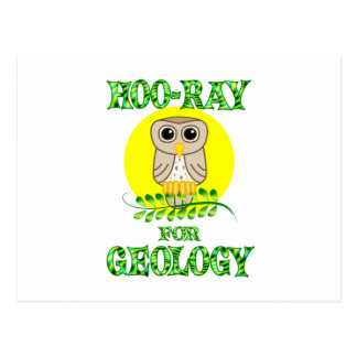 Hoo-Ray for Geology Post Cards