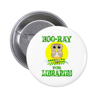 Hoo-Ray for Libraries Button
