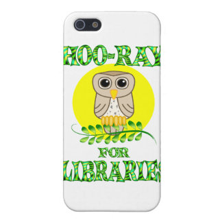 Hoo-Ray for Libraries Cover For iPhone 5