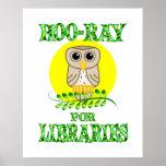 Hoo-Ray for Libraries Print
