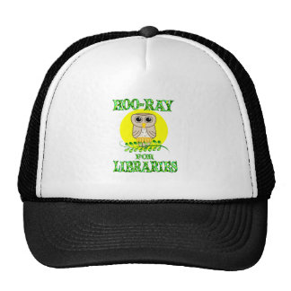 Hoo-Ray for Libraries Trucker Hat