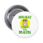 Hoo-Ray for Math Pinback Button