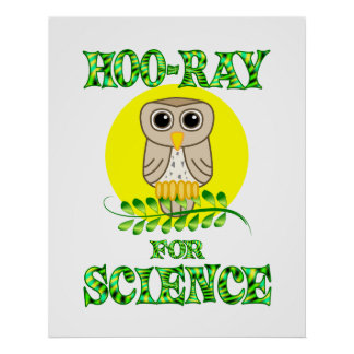 Hoo-Ray for Science Poster