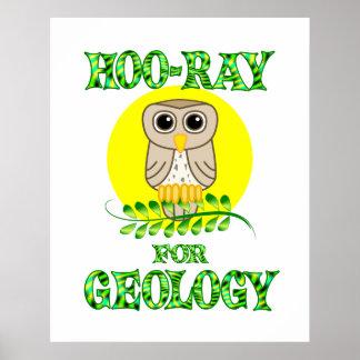 Hoo-Rayo para la geología Poster