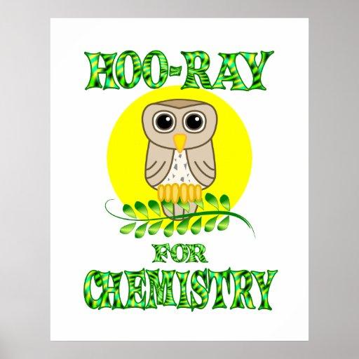Hoo-Rayo para la química Poster