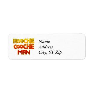 Hoochie Coochie Man Label