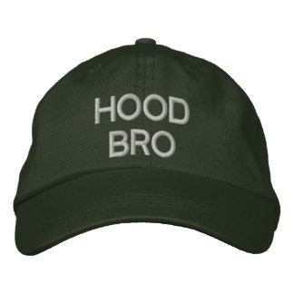 HOOD BRO - Custom Caps @ eZaZZleman.com Baseball Cap