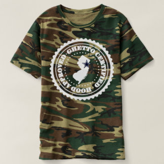 HOOD CERTIFIED - GHETTO APPROVED Camo Version T-shirt
