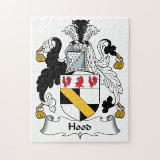 Hood Family Crest Jigsaw Puzzle