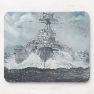 Hood heads for Bismarck 23rdMay 1941. 2014 Mouse Pad