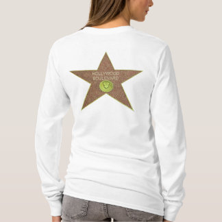 Hood long sleeves tee-shirt Hollywood woman T-Shirt