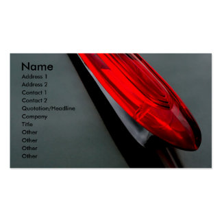 Hood Ornament Double-Sided Standard Business Cards (Pack Of 100)