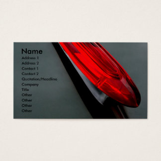 Hood Ornament Business Card