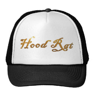 hood rat 2k10 2point oh trucker hat