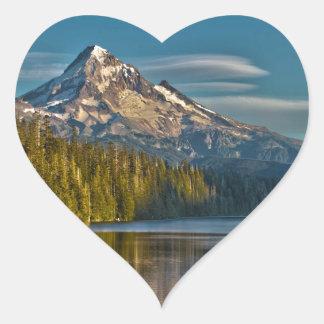 Hood River Oregon Heart Sticker