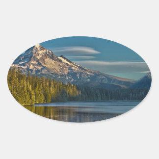 Hood River Oregon Oval Sticker
