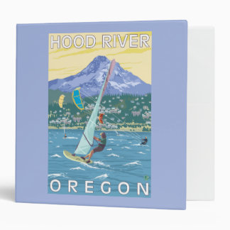 Hood River, ORWind Surfers & Kite Boarders 3 Ring Binder