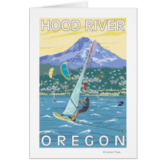 Hood River, ORWind Surfers & Kite Boarders Card