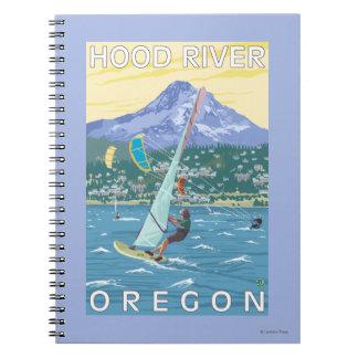 Hood River, ORWind Surfers & Kite Boarders Notebook