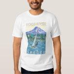Hood River, ORWind Surfers & Kite Boarders T Shirt