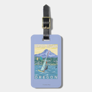 Hood River, ORWind Surfers & Kite Boarders Tag For Luggage
