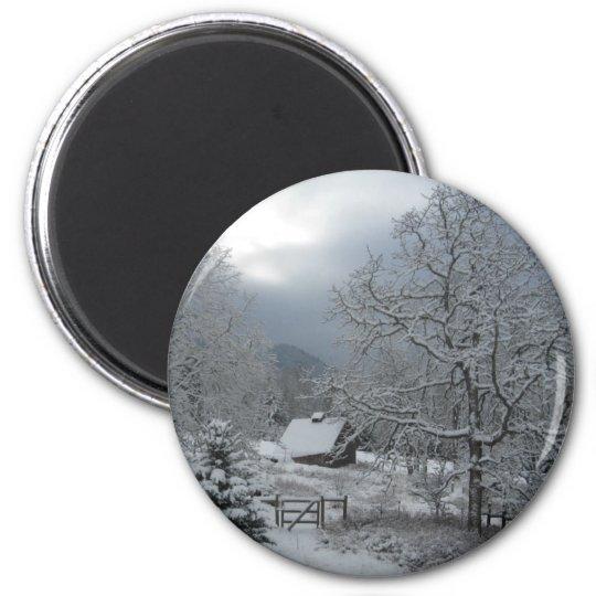 Hood River Winter Magnet