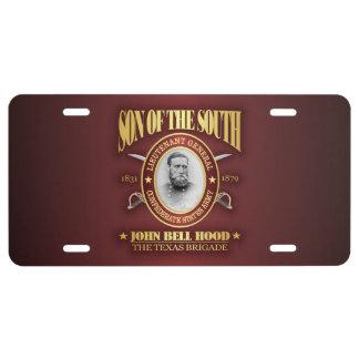Hood (SOTS2) License Plate